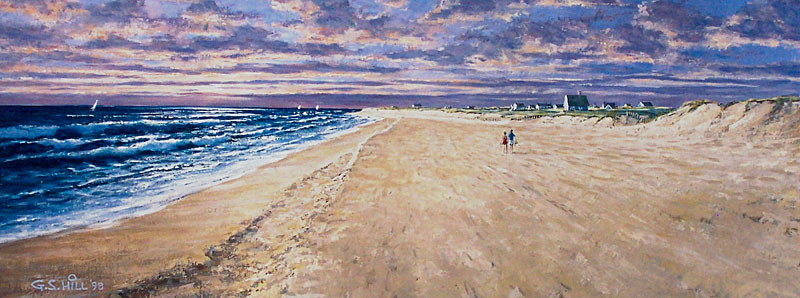 Giclees And Hand Colored Lithographs G S Hill Gallery Amp Hill S Of Nantucket Fine Art Prints